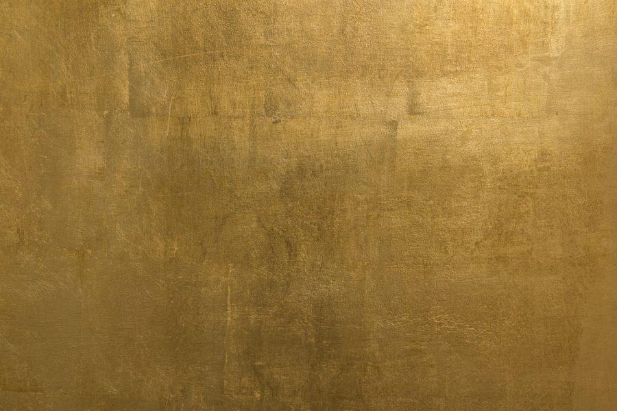 Peinture Murale A Effet Metallisee Mur Dore Full 13081591