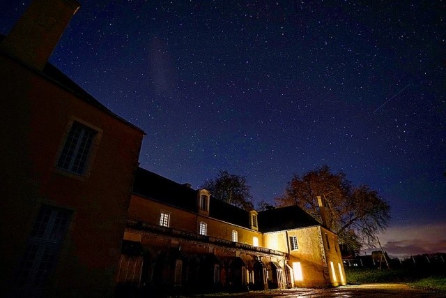 Starry night at Bonnevaux