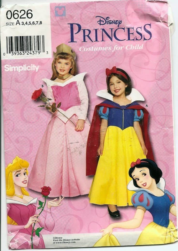 princess costume pattern