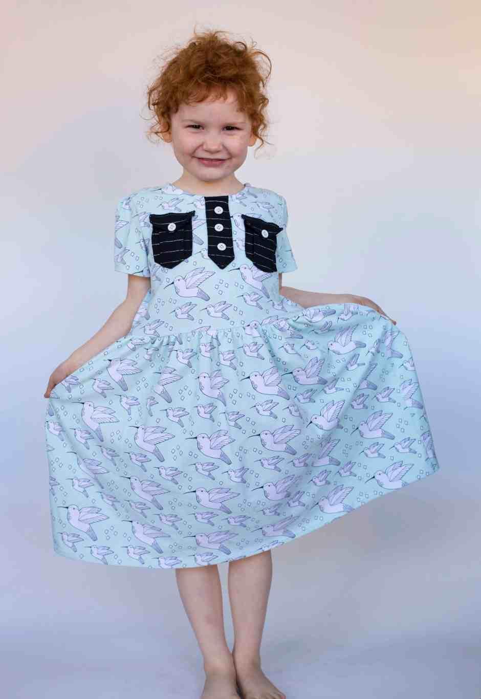 girl-pocket-placket-dress