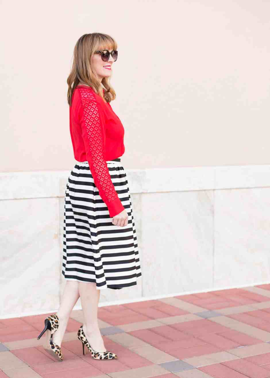 style-stripe-gathered-skirt