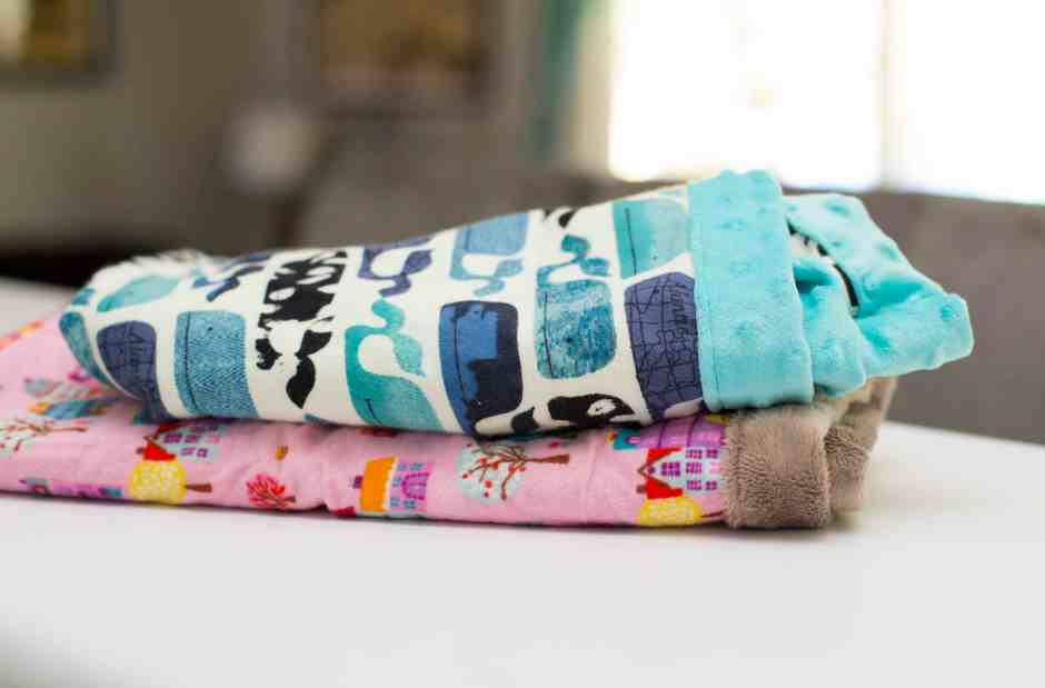 FREE Baby Blanket Sewing Tutorial & Instructions