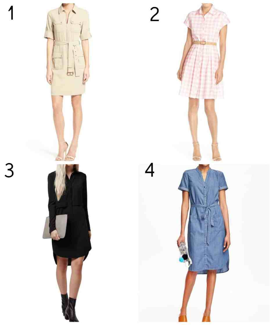 shirtdress-collage
