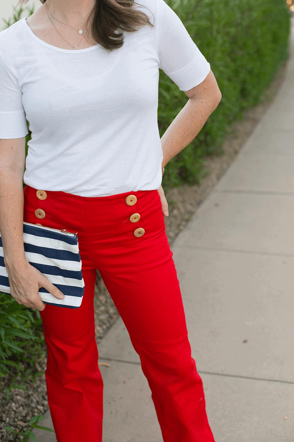 DIY-flare-leg-pants