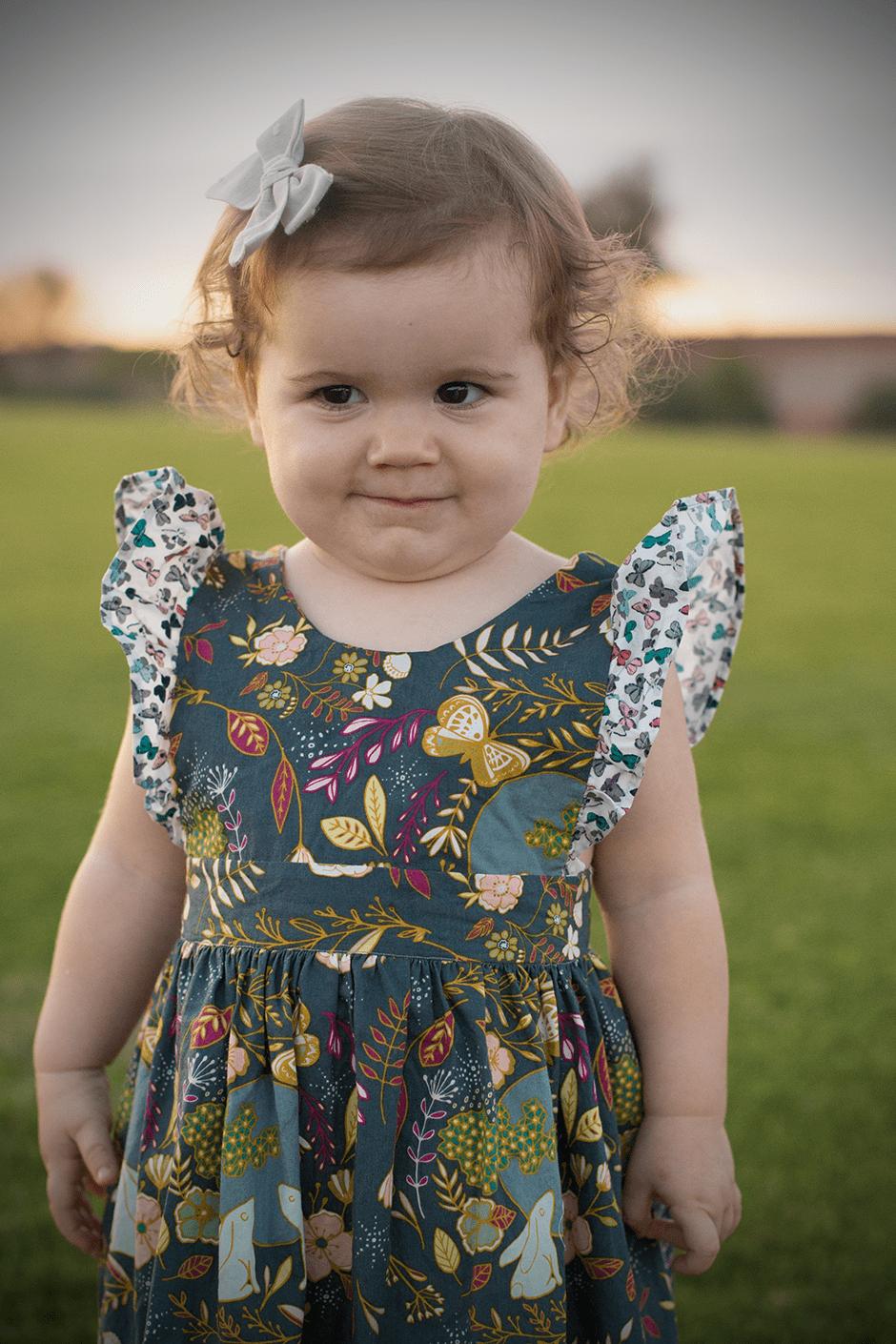 pinafore-little-girl