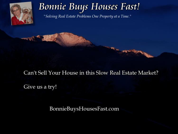 We Buy Homes in Colorado Springs