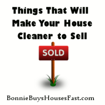 Small Things to Make Your House Cleaner to Sell