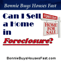 Sell a home in Foreclosure