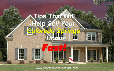 How to Sell a Colorado Springs House Fast