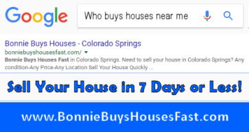 Who Buys Houses Near Me in Colorado Springs