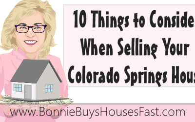 10 Things to Consider When Selling Your Colorado Springs House