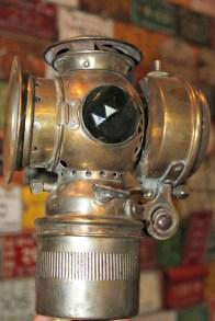 sun brass carbide lamp