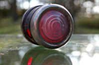 1920s cowl light clear lens on front red lens on back