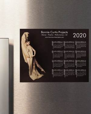2020 Magnetic Calendar Bonnie Gold