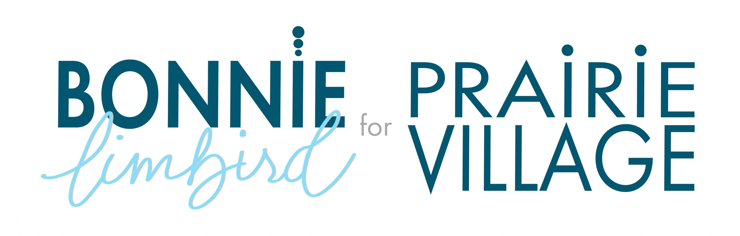 Bonnie Limbird for Prairie Village