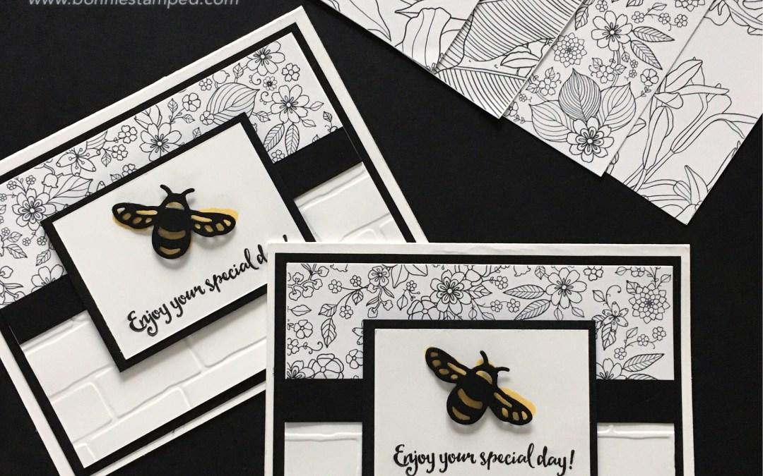 Sale-a-bration Inside the Lines Designer Series Paper