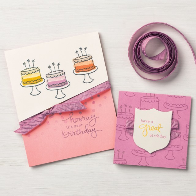 #endlessbirthdaywishes #retiringproduct #stampinup #bonniestamped