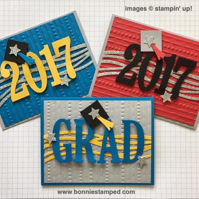 #graduation #largenumberframelits #largeletterframelits #swirlyscribbles #bonniestamped #stampinup #graduationcards