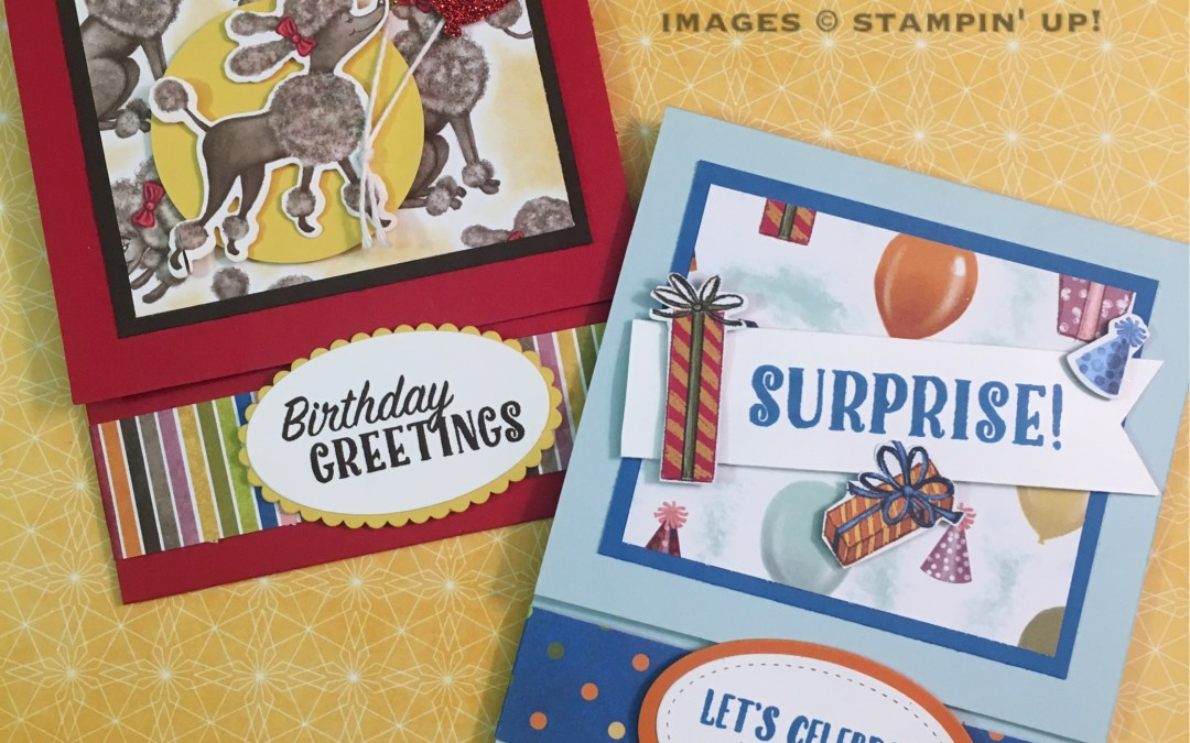 Fun Folded Cards with the Birthday Memories Suite!