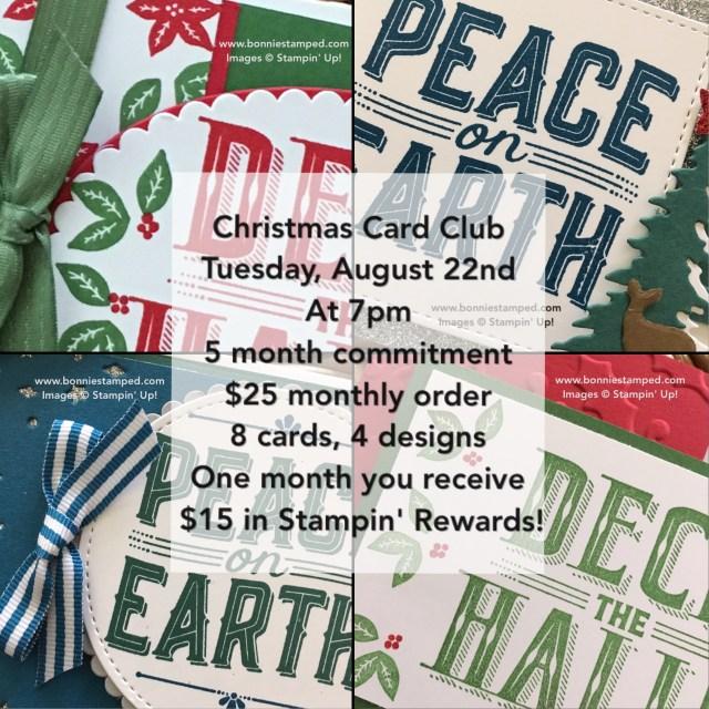 #christmascardclub #bonniestamped #carolsofchristmas #earlyrelease