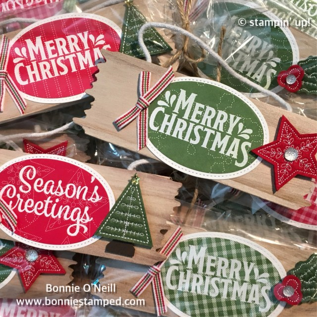 #homemade #quiltedchristmas #ornaments #gifts #bonniestamped