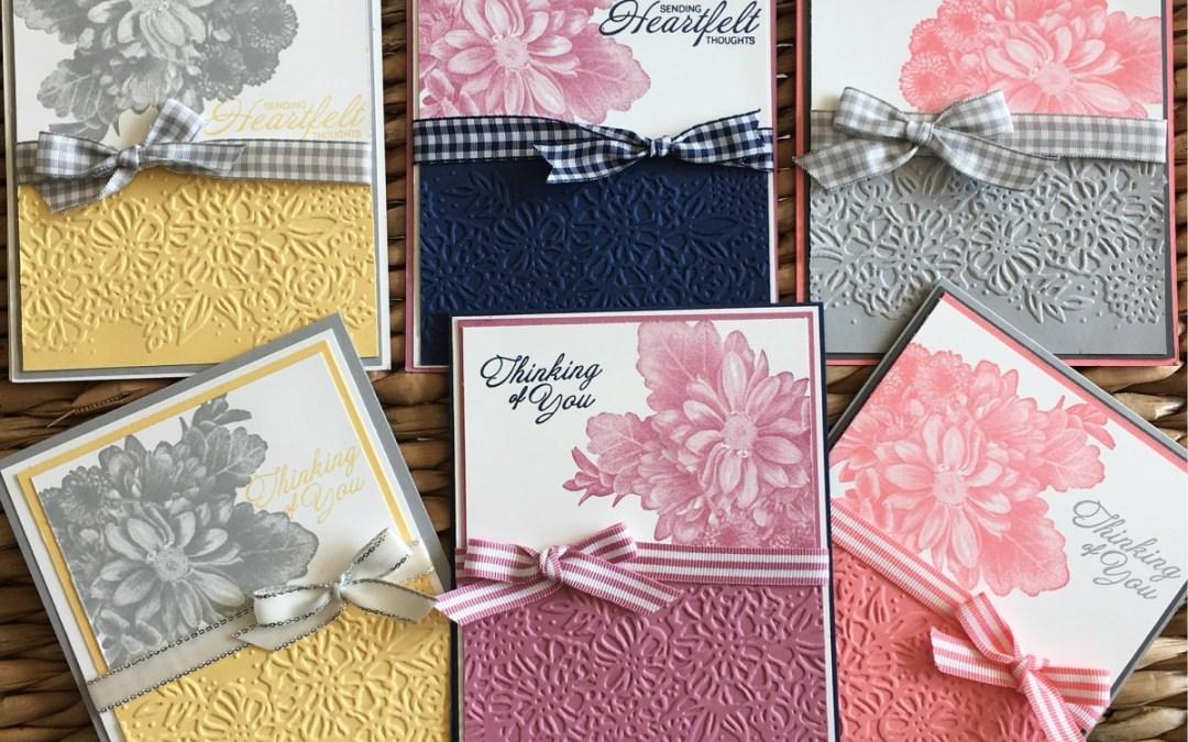 Petal Pair Embossing Folder with Heartfelt Blooms