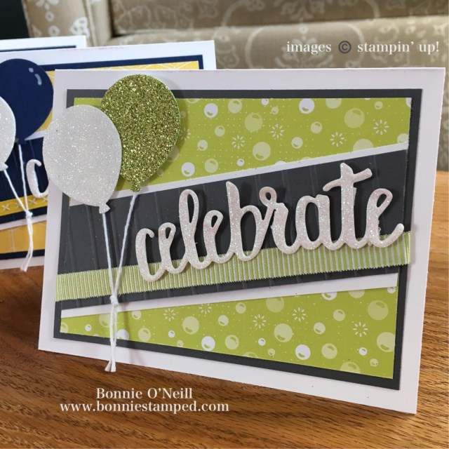 #celebrateyou #saleabration #bonniestamped #stampinup