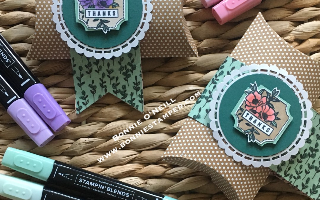 Darling Label Punch Pillow Box