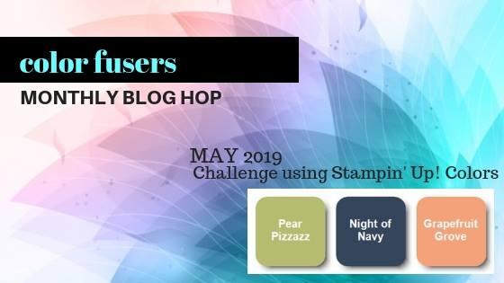 #colorfusersblog #bonniestamped #createwithbonnie #stampinup