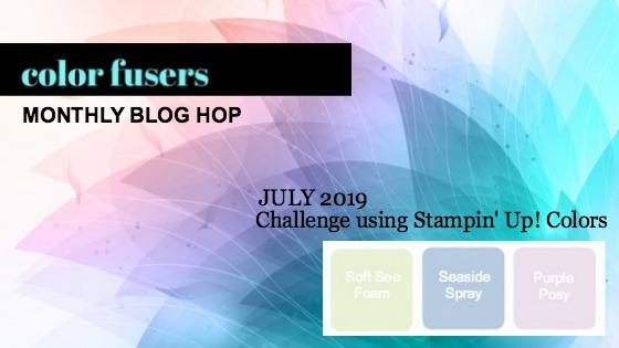 Color Fusers Blog Hop July 2019
