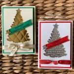 Foil Sheets to make a Christmas Tree