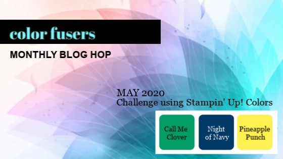 Color Fusers Blog Hop May 2020