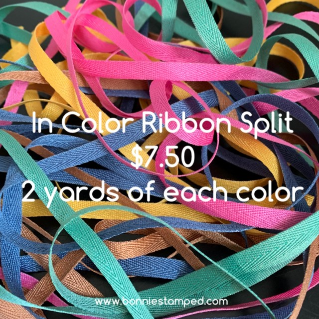 In Color Ribbon Split with Bonnie