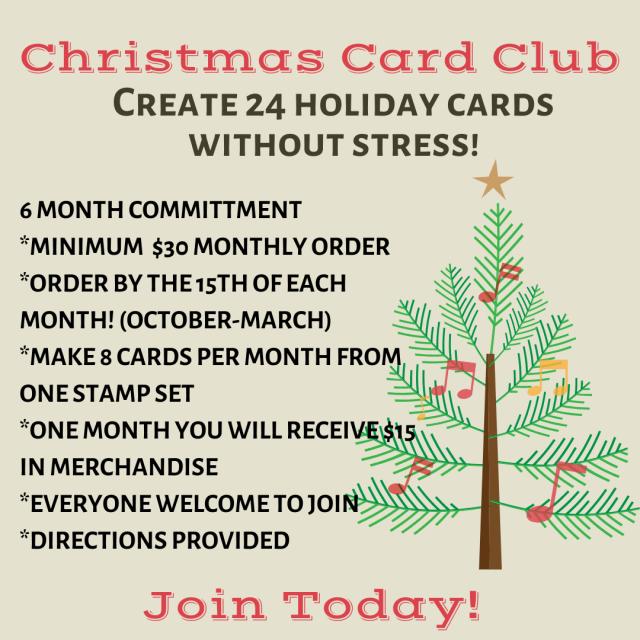 Holiday Card Club
