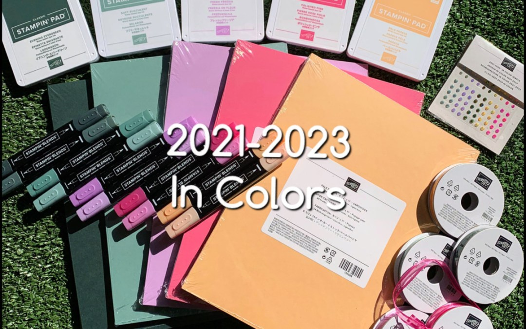 New 2021-2013 In Colors have arrived
