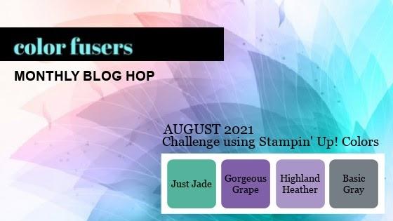 Color Fusers Blog Hop August 2021