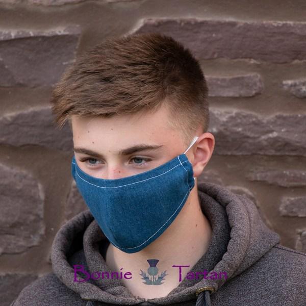 Denim Face Mask