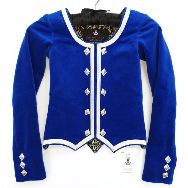 Bonnie Tartan Highland Dancing Jacket