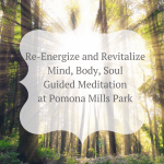 Re Energize And Revitalize Body Mind And Soul Guided