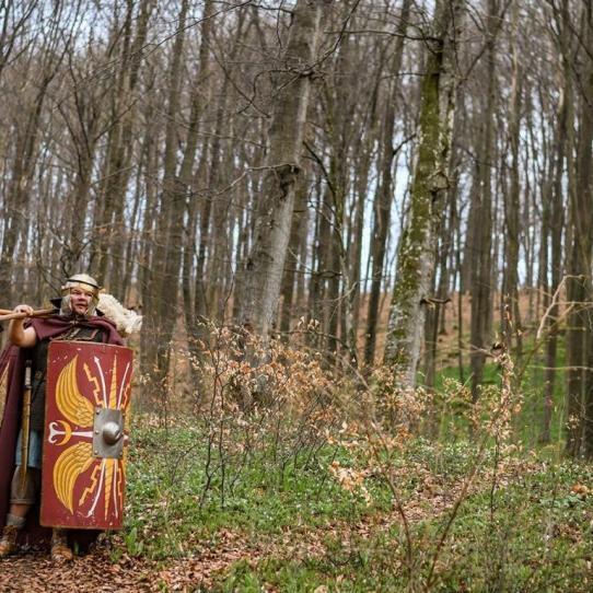 Auf dem Römerkanal-Wanderweg