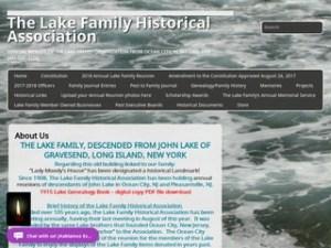 screenshot_of_The_Lake_Family_Historical_Association