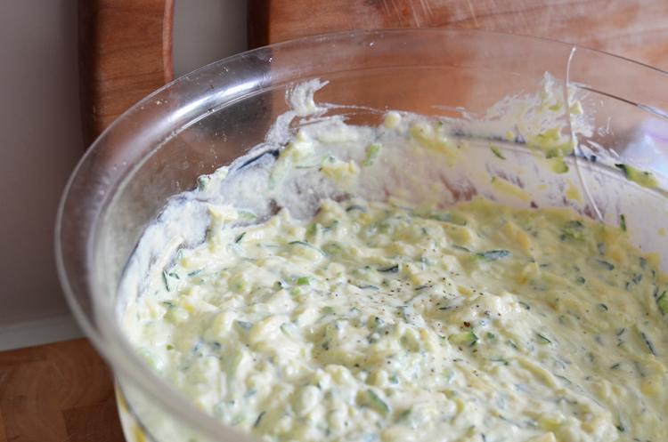 Rezept Zucchini Ricotta Küchlein