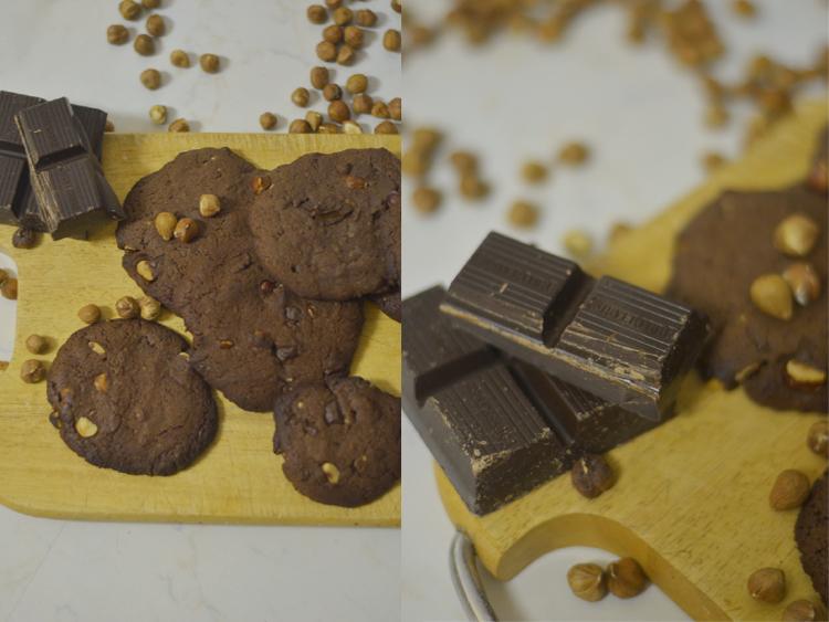Einfaches Schoko-Cookie-Rezept