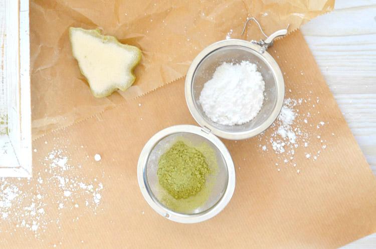 Matcha Kekse Rezept