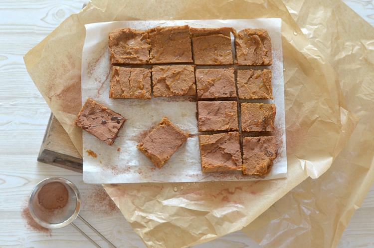 Rezept vegane Süßkartoffel Brownies