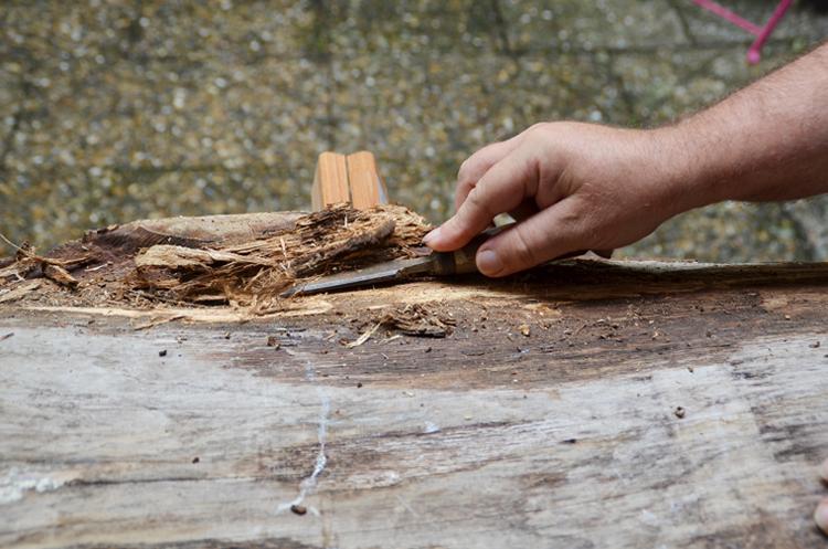 Couchtisch aus Massivholz selber bauen