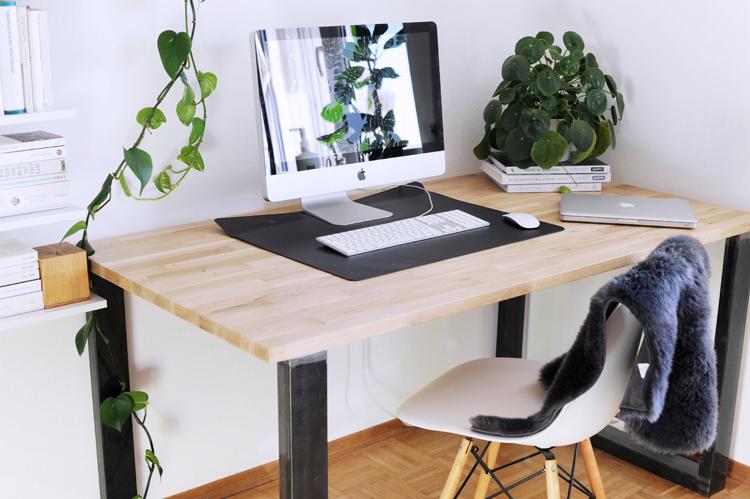 Anleitung: Schreibtisch selber bauen