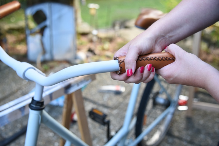 Altes Fahrrad neu lackieren
