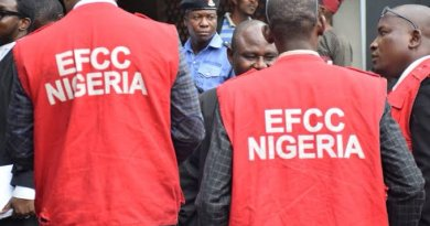 Justice Mohammed Abubakar of the Federal High Court sitting in Abeokuta, Ogun State, has jailed sixteen internet fraudsters. The judge gave his ruling on Friday, according to a statement by Dele Oyewale, spokesman of the Economic and Financial Crimes Commission (EFCC). Those convicted were found guilty of criminal impersonation and possession of documents containing false pretences. They are Ajibola Ibikunle, Victor Solomon Osahun, Adeniyi Afeez Adebayo, Enitan Babajide Ganiu, Ashore Gbogbo Ayo, Sobayo Oladapo, Odebode Abiola Jamiu and Dairo Emmanuel Olajide. Others are Stephen Mathew, Hussain Abdulkabir, Ayanniyi Quadri Ayansegun, Ajibike Kehinde Segun, Ibironke Tomiwa Emmanuel, Agboola Olanrewanju Shakiru, Abdulrauf Adam Opeyemi and Akinlabi Royal Ebube. The convicts, all in their mid-20s, pleaded guilty to one-count charge of impersonation separately filed against them by the EFCC. Prosecution counsels, Bashir Shamsuddeen, and Abdulrasheed Lanre Suleiman, then prayed the court to convict them accordingly. According to the breakdown of the jail terms, Odebode was sentenced to two months imprisonment. Ajibola, Osahun, Adebayo, Enitan, Ashore, Matthew, Ajibike and Akinlabi were sentenced to three months jail each, while Ayanniyi, Sobayo, Ibironke and Abdulrauf bagged four months each. Abdulkabir and Dairo were handed six months jail term each, while Agboola was sentenced to eleven months imprisonment. All would forfeit all items recovered from them to the Federal Government of Nigeria. Also, they must restitute sundry sums to their respective victims.