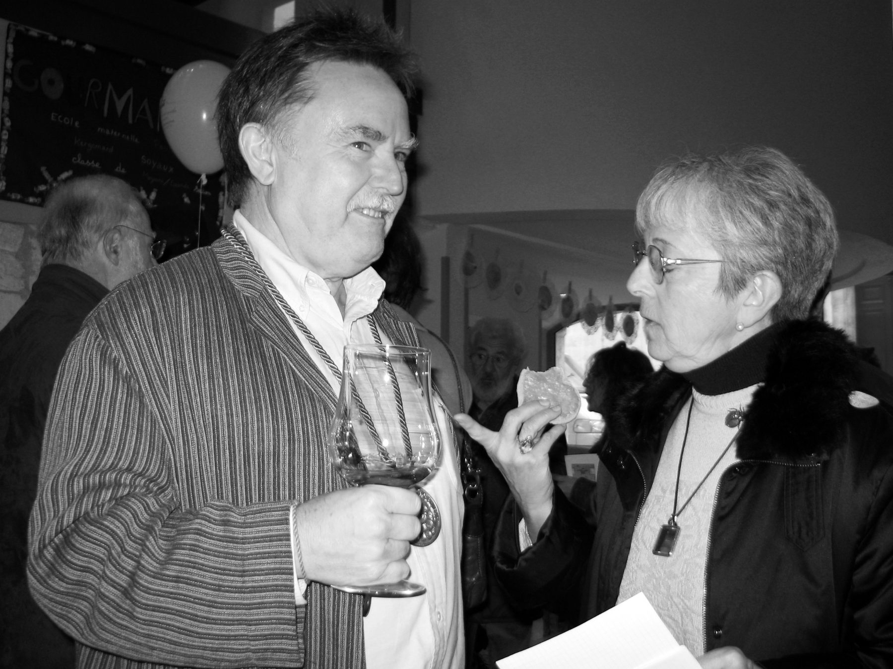 Glen Baxter en 2005 - Photo Alain François